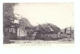 62 Farbus Kirche Mit Friedhof Eglise Avec Cimetiere Occupation Allemance Cachet Militaire Feld Postexped 1915 Guerre - Andere Gemeenten