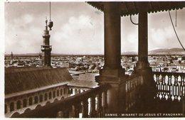(90)  CPA  Damas  Minaret De Jesus   (Bon  état) - Syrie