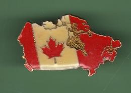 CARTE DU CANADA*** 0062 - Cities