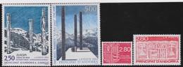 Andorre   .    Yvert   .  4 Timbres      .      **      .   Neuf SANS Charniere    . /   .   MNH - Französisch Andorra