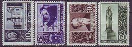 ROSSIA - RUSSIA - Mi. 749-52  SCIENCE - CSULPTUR - **MNH - 1939 - EXELENT - Ungebraucht