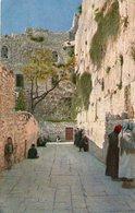(90)  CPA  Klagemauer Der Juden  Mur De Pleurs   (Bon  état) - Israel