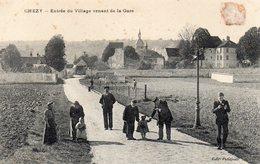/ Chézy Sur Marne - Entrée Du Village Venant De La Gare - Autres Communes