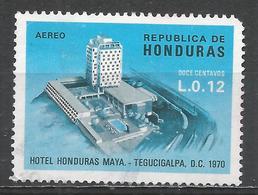 Honduras 1970. Scott #C485 (U) Hotel Honduras Maya ** - Honduras