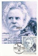 CARTE MAXIMUM  –  Monaco    Edward Grieg 1993 - Maximumkaarten