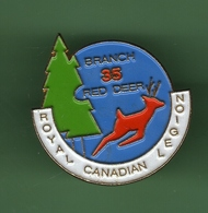 ROYAL CANADIAN LEGION BRANCH 35 RED DEER *** 0062 - Cities