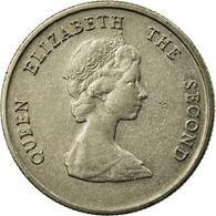 Monnaie, Etats Des Caraibes Orientales, Elizabeth II, 10 Cents, 1989, TTB - East Caribbean States
