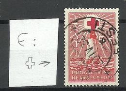 Estland Estonia 1931 Michel 91 + ERROR Abart Variety O - Estland