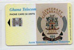 GHANA TELECOM - 50 UNITS - 100RY CELEBRATION ACCRA - Ghana
