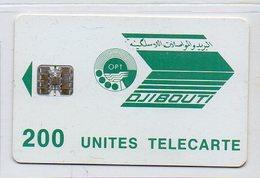 TELECARTE - 200 UNITES - Dschibuti