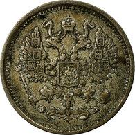 Monnaie, Russie, Nicholas II, 10 Kopeks, 1906, Saint-Petersburg, TTB, Argent - Russia