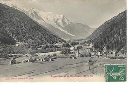 74 ARGENTIERE VILLAGE VALLEE DE CHAMONIX MONT BLANC Editeur: PHOTOGLOB  Numéro:  2394 - Chamonix-Mont-Blanc