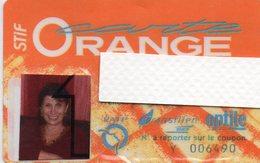Carte Orange STIF - Abonnements Hebdomadaires & Mensuels