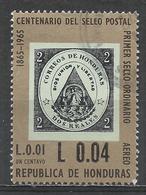 Honduras 1971. Scott #C486 (U) Stamp Of 1866, #1 * - Honduras
