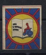 Yugoslavia, Fund Dr Miroslav Zotovic, Muscular Dystrophy ,cinderella, Labels,  Vignette, Additional Stamp - Dienstzegels