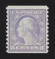 US #456 1914-16 Violet Type I Perf 10 Vert Wmk 190 Mint NG F-VF Scv $250 - Unused Stamps