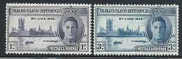"""Falkland Is.  Dependencies        """"Peace""""     Set    SC# 1L9-10   MNH - Falkland Islands"""