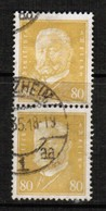 GERMANY  Scott # 384 VF USED PAIR (Stamp Scan # 457) - Germany