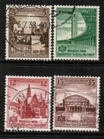 GERMANY  Scott # 486-9 VF USED (Stamp Scan # 457) - Used Stamps