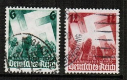 GERMANY  Scott # 479-80 VF USED (Stamp Scan # 457) - Used Stamps