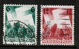 GERMANY  Scott # 479-80 VF USED (Stamp Scan # 457) - Germany