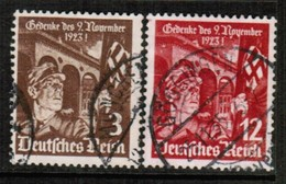 GERMANY  Scott # 467-8 VF USED (Stamp Scan # 457) - Used Stamps