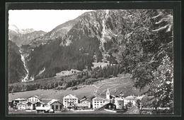 AK Casaccia, Ort Gegen Die Alpen Gesehen - GR Grisons