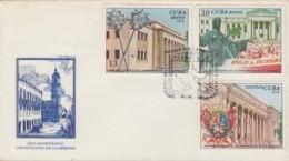 1978-FDC-76 CUBA FDC 1978. 250 ANIV DE LA UNIVERSIDAD DE LA HABANA, HAVANA UNIVERSITY. - FDC