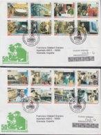 2009-FDC-85 CUBA FDC 2009. REGISTERED COVER TO SPAIN. 50 ANIV REVOLUCION, FIDEL CASTRO, ERNESTO CHE GUEVARA. - FDC