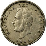Monnaie, El Salvador, 3 Centavos, 1889, Heaton, TTB, Copper-nickel, KM:107 - Salvador