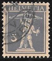 1924 5c Grey Violet, William Tell's Son, Used - Switzerland