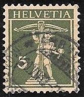 1930 5c Green, William Tell's Son, Used - Switzerland