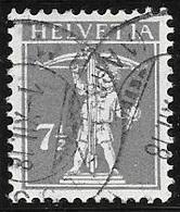1918 7-1/2c Gray, William Tell's Son, Used - Switzerland