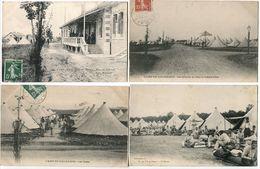 4 CPA * CAMP Du VALDAHON (3) Mess Officiers Vue Générale Et Chateau D'Eau Les Tentes + 1 Vie Au Camp La Soupe - Casernes