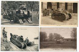 4 CP * Arrivée Chars Pour L'attaque / Char D'Assaut / En Manoeuvre / Tank Au Repos - Ausrüstung
