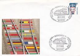 KUNST UND ARCHITEKTUR BAHNHOFSFEST AM PASINGER BAHNHOF. MUNCHEN 2 YEAR 1995 GERMANY - BLEUP - Trains