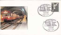 SCHWEINFURT 1 130 JAHRE YEAR 1982, GERMANY - BLEUP - Trains
