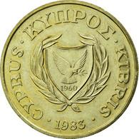 Monnaie, Chypre, 20 Cents, 1983, SUP, Nickel-brass, KM:57.1 - Chypre