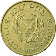 Monnaie, Chypre, 20 Cents, 1983, TTB, Nickel-brass, KM:57.1 - Chypre