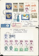J) 1987 POLAND, REGISTERED, EXCESS OF PORTE, HIGH RATE, MULTIPLE STAMPS, AIRMAIL, CIRCULATED COVER FROM POLAND TO CARACA - 1944-.... Republic