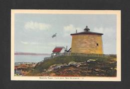 ST JOHN - NEW BRUNSWICK - MARTELLO- TOWER - PAR PECO - St. John