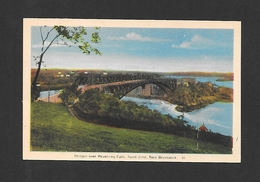 ST JOHN - NEW BRUNSWICK - BRIDGES OVER REVERSING FALLS - PAR PECO - St. John