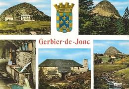 07 Gerbier De Jonc Le Gerbier La Ferme Et Son Restaurant (2 Scans) - France