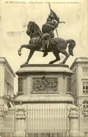 BRUXELLES :  Statue De Godefroid De Bouillon - Monumenten, Gebouwen