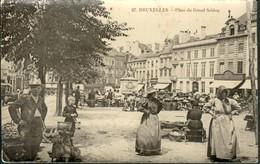 BRUXELLES :   Place Du Grand Sablon - Markten