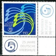 A13-08-7) BRD - Mi 2044 ECKE REU - ** Postfrisch (C) - 110Pf           25 Jahre Deutsche Krebshilfe - BRD