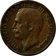 Monnaie, Italie, Vittorio Emanuele III, 10 Centesimi, 1921, Rome, TTB, Bronze - 1861-1946 : Royaume