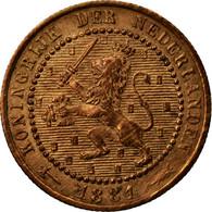 Monnaie, Pays-Bas, William III, Cent, 1881, TTB, Bronze, KM:107.1 - [ 3] 1815-… : Royaume Des Pays-Bas