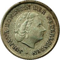 Monnaie, Netherlands Antilles, Juliana, 1/10 Gulden, 1963, TTB, Argent, KM:3 - Antillen (Niederländische)