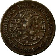 Monnaie, Pays-Bas, William III, 1/2 Cent, 1884, TTB, Bronze, KM:109.1 - [ 3] 1815-… : Royaume Des Pays-Bas